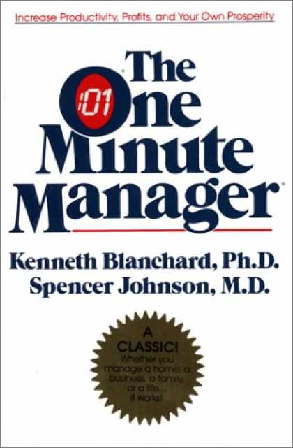 Bestsellers (2007) - The One Minute Manager Anniversary Edition: The World's Most Popular Management