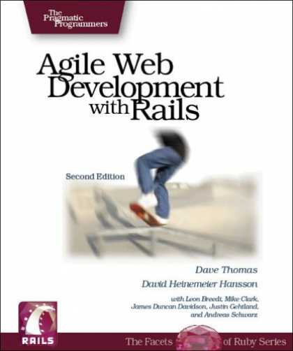 Bestsellers (2007) - Agile Web Development with Rails (Pragmatic Programmers) by Dave Thomas