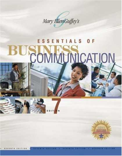 Bestsellers (2007) - Essentials of Business Communication by Mary Ellen Guffey