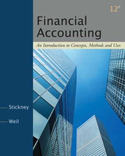 Bestsellers (2007) - Financial Accounting: An Introduction to Concepts, Methods and Uses by Clyde P.