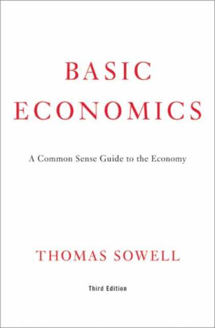 Bestsellers (2007) - Basic Economics: A Common Sense Guide to the Economy by Thomas Sowell