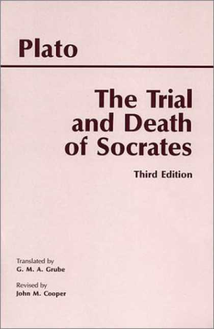 Bestsellers (2007) - The Trial and Death of Socrates (3rd Edition) by Plato