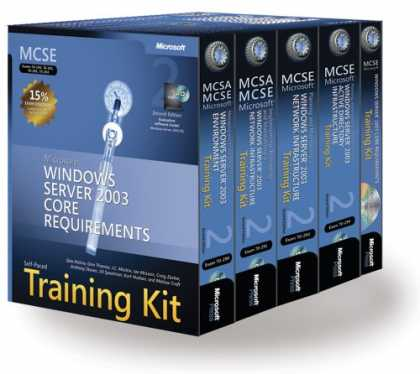Bestsellers (2007) - MCSE Self-Paced Training Kit (Exams 70-290, 70-291, 70-293, 70-294): Microsoft W