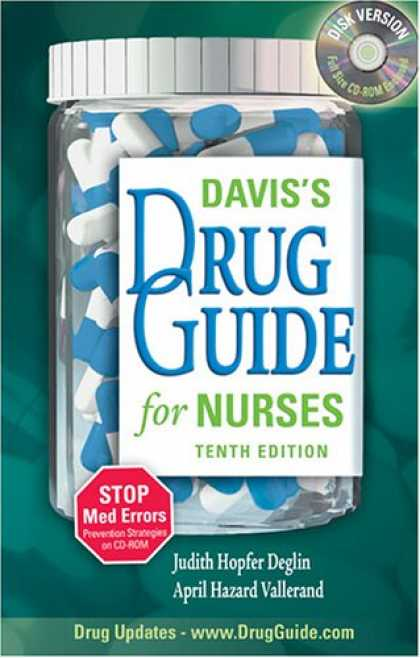 Bestsellers (2007) - Davis's Drug Guide for Nurses (Davis's Drug Guide for Nurses)(10th Edition) by J