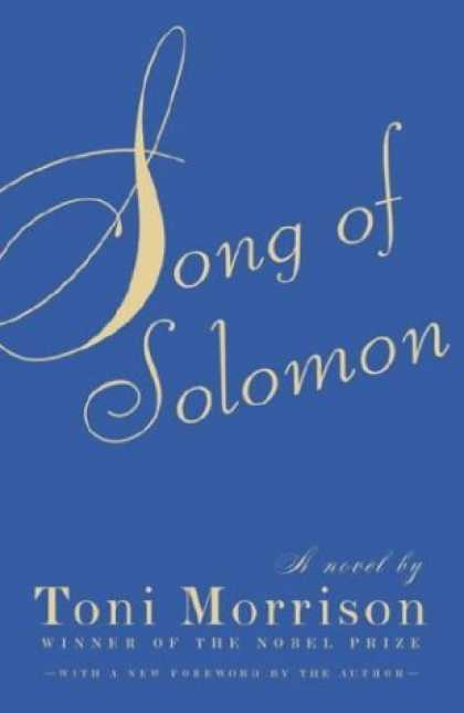 Bestsellers (2007) - Song of Solomon by Toni Morrison