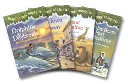 Bestsellers (2007) - Magic Tree House Boxed Set of 4, Books 9-12: Dolphins at Daybreak, Ghost Town a