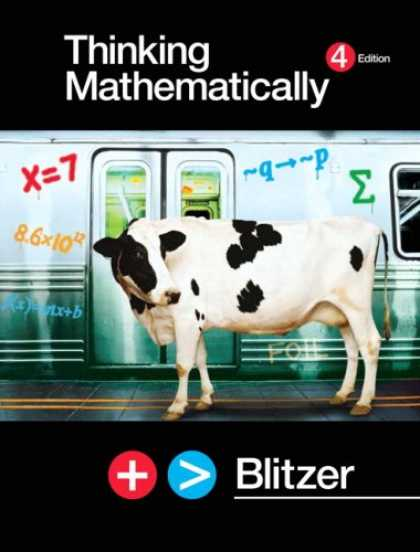 Bestsellers (2007) - Thinking Mathematically by Robert F. Blitzer