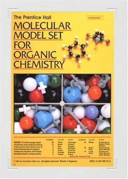 Bestsellers (2007) - Prentice Hall Molecular Model Set For Organic Chemistry by ESM Prentice Hall