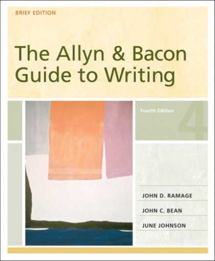 Bestsellers (2007) - Allyn & Bacon Guide to Writing, Brief Edition, The (4th Edition) by John D. Rama