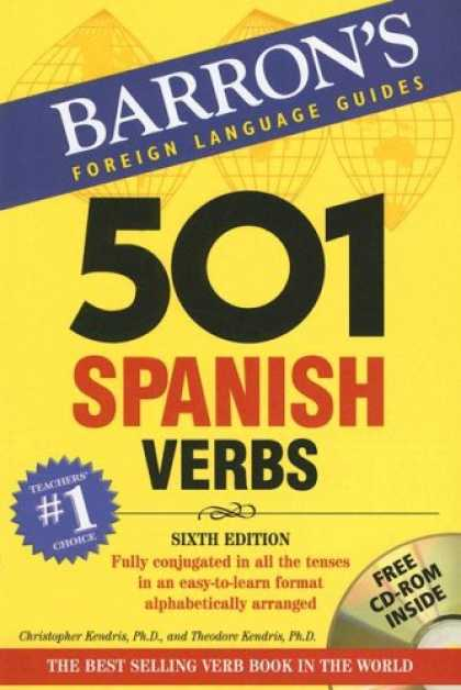 Bestsellers (2007) - 501 Spanish Verbs: with CD-ROM (Barron's Foreign Language Guides) by Christopher