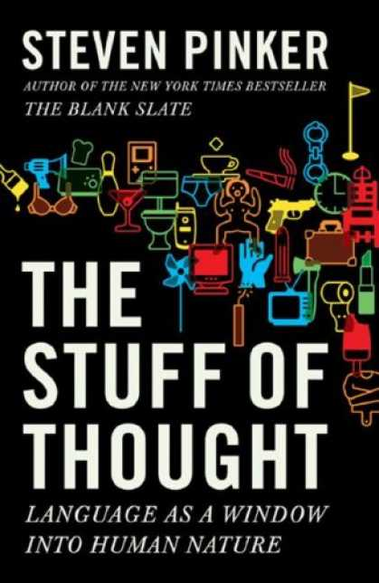 Bestsellers (2007) - The Stuff of Thought: Language as a Window into Human Nature by Steven Pinker