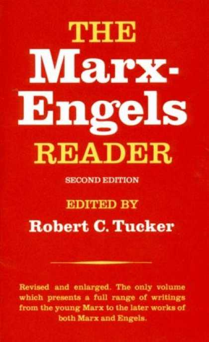 Bestsellers (2007) - The Marx-Engels Reader, Second Edition by Robert C. Tucker