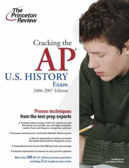 Bestsellers (2007) - Cracking the AP U.S. History Exam, 2006-2007 Edition (College Test Prep) by Prin