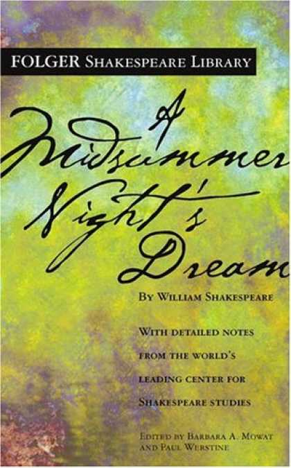 Bestsellers (2007) - A Midsummer Night's Dream (New Folger Library Shakespeare) by William Shakespear