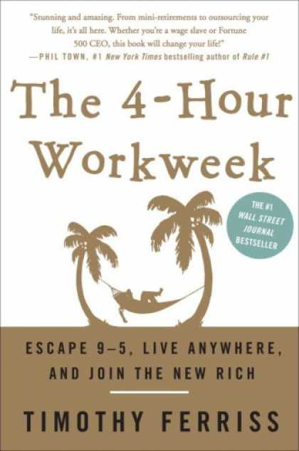 Bestsellers (2007) - The 4-Hour Workweek: Escape 9-5, Live Anywhere, and Join the New Rich by Timothy