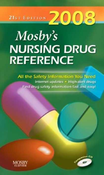 Bestsellers (2007) - Mosby's 2008 Nursing Drug Reference (Mosby's Nursing Drug Reference) by Linda Sk