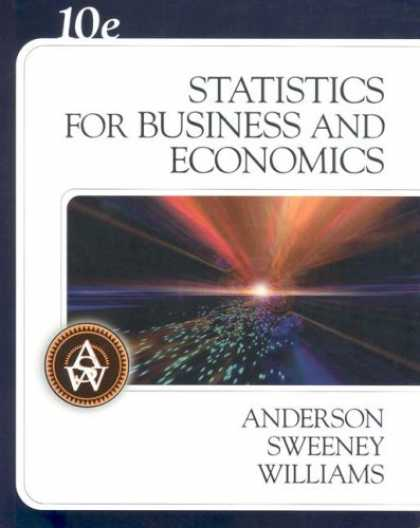 Bestsellers (2007) - Statistics for Business and Economics (with CD-ROM) by David R. Anderson