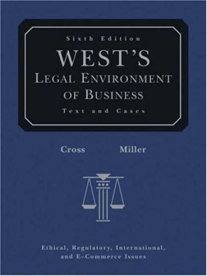 Bestsellers (2007) - West's Legal Environment of Business (with Online Business Guide) by Frank B. Cr