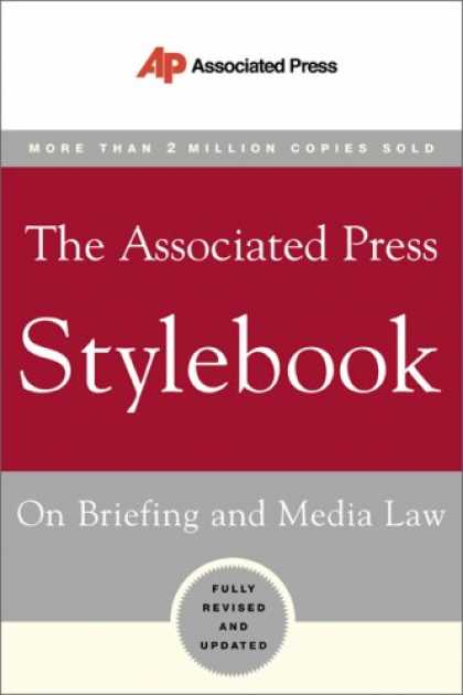 Bestsellers (2007) - The Associated Press Stylebook (Associated Press Stylebook and Briefing on Media