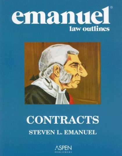 Bestsellers (2007) - Emanuel Law Outlines: Contracts by Steven L. Emanuel
