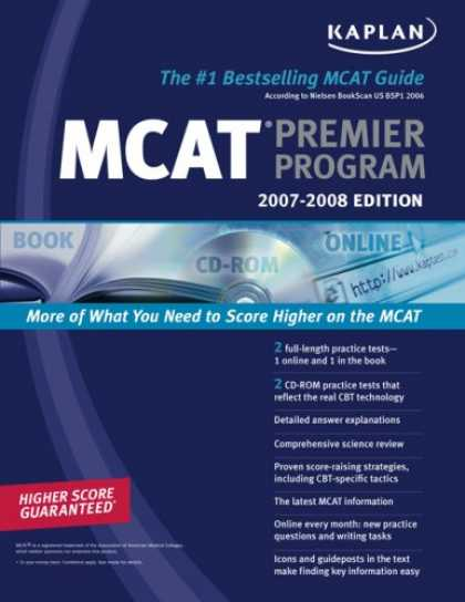Bestsellers (2007) - Kaplan MCAT 2007-2008 Premier Program (w/ CD-ROM) (Kaplan MCAT Premier Program (