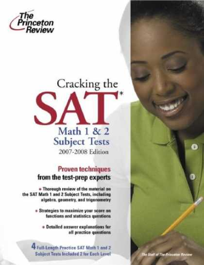 Bestsellers (2007) - Cracking the SAT Math 1 and 2 Subject Tests, 2007-2008 Edition (College Test Pre