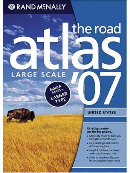 Bestsellers (2007) - Rand McNally 2007 Road Atlas: United States-Large Scale (Rand Mcnally Large Scal