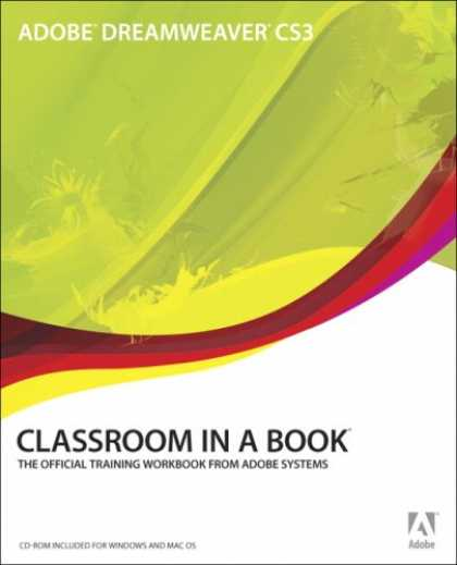 Bestsellers (2007) - Adobe Dreamweaver CS3 Classroom in a Book by Adobe Creative Team