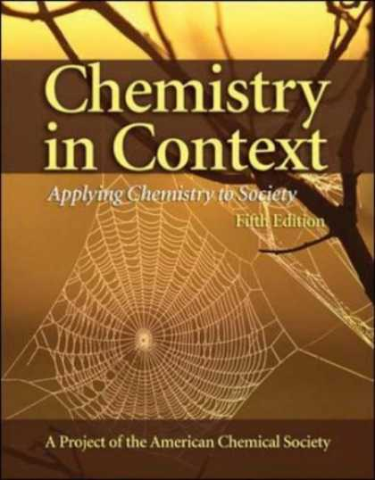 Bestsellers (2007) - Chemistry in Context: Applying Chemistry To Society by American Chemical Society