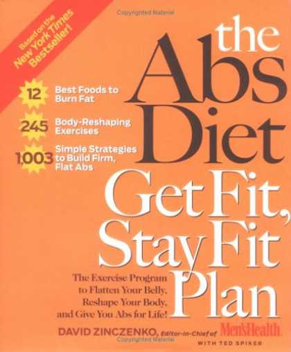 Bestsellers (2007) - The Abs Diet Get Fit Stay Fit Plan: The Exercise Program to Flatten Your Belly,