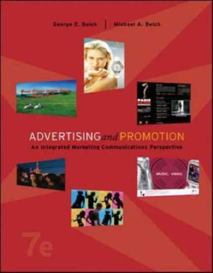 Bestsellers (2007) - Advertising and Promotion: An Integrated Marketing Communications Perspective w/