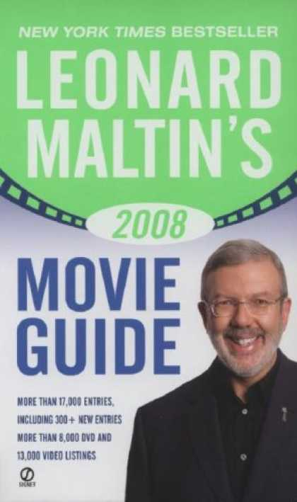 Bestsellers (2007) - Leonard Maltin's 2008 Movie Guide (Leonard Maltin's Movie Guide (Signet)) by Leo