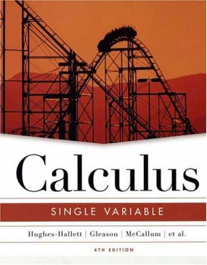 Bestsellers (2007) - Calculus: Single Variable by Deborah Hughes-Hallett