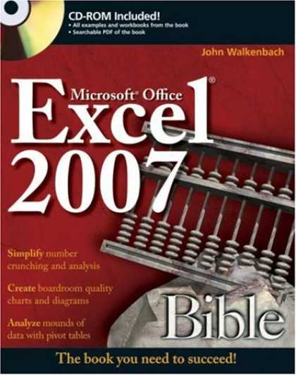 Bestsellers (2007) - Excel 2007 Bible by John Walkenbach