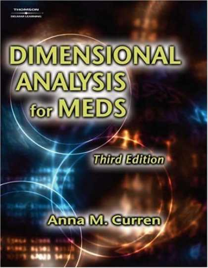 Bestsellers (2007) - Dimensional Analysis for Meds by Anna M Curren