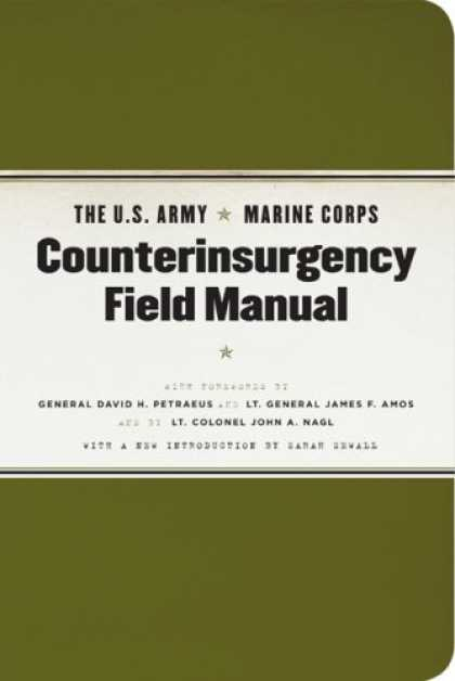 Bestsellers (2007) - The U.S. Army/Marine Corps Counterinsurgency Field Manual