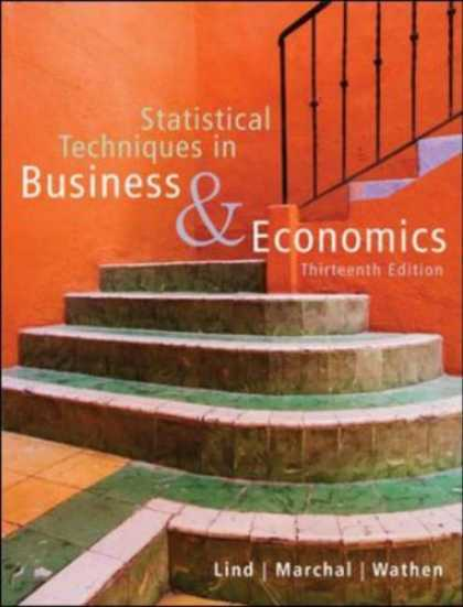 Bestsellers (2007) - Statistical Techniques in Business and Economics with Student CD by Douglas A. L