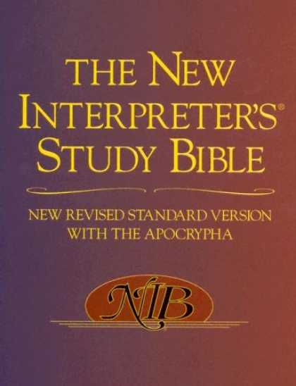 Bestsellers (2007) - The New Interpreter's Study Bible: New Revised Standard Version With the Apocryp