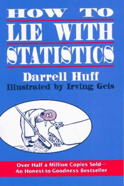 Bestsellers (2007) - How to Lie With Statistics by Darrell Huff