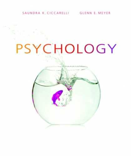 Bestsellers (2007) - Psychology (MyPsychLab Series) by Saundra K. Ciccarelli