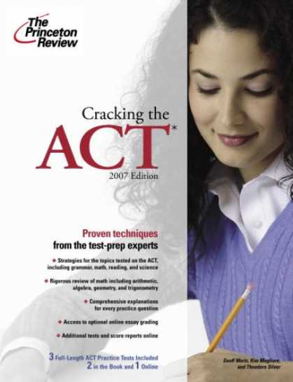 Bestsellers (2007) - Cracking the ACT, 2007 Edition (College Test Prep) by Princeton Review