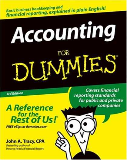 Bestsellers (2007) - Accounting For Dummies by John A., CPA Tracy
