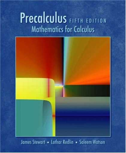 Bestsellers (2007) - Precalculus : Mathematics for Calculus: 5th Edition (with CD-ROM) by James Stew