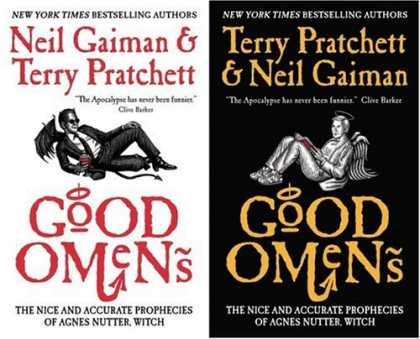 Bestsellers (2007) - Good Omens: The Nice and Accurate Prophecies of Agnes Nutter, Witch by Neil Gaim