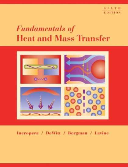 Bestsellers (2007) - Fundamentals of Heat and Mass Transfer by Frank P. Incropera