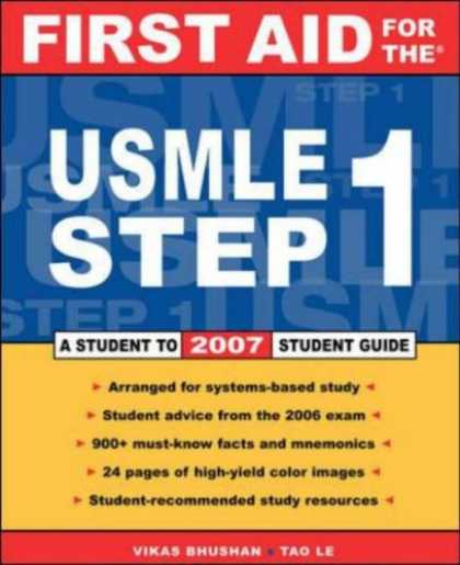 Bestsellers (2007) - First Aid for the USMLE Step 1: 2007 (First Aid for the Usmle Step 1) by Vikas B