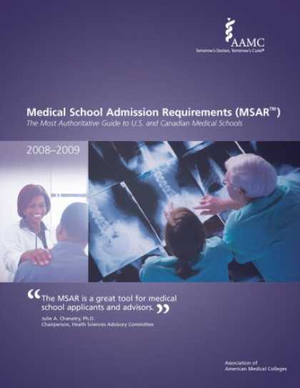 Bestsellers (2007) - Medical School Admission Requirements (MSAR) 2008-2009: The Most Authoritative G