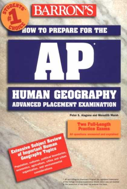 Bestsellers (2007) - How to Prepare for the AP Human Geography Exam (Barron's How to Prepare for the