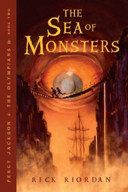 Bestsellers (2007) - The Sea of Monsters (Percy Jackson and the Olympians, Book 2) by Rick Riordan