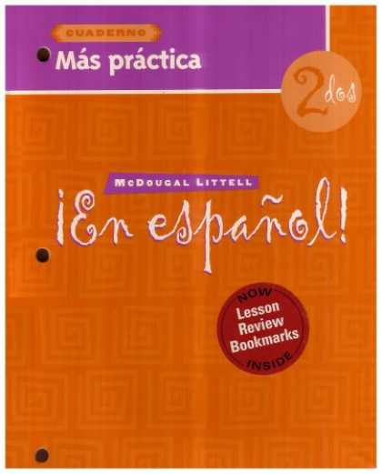 Bestsellers (2007) - En Espanol: Level 2 Mas Practica Cuaderno with Lesson Review Bookmarks by Carlin